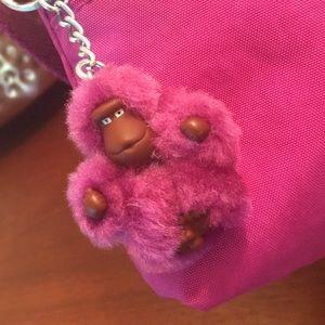 💗 KIPLING Magenta Pink Crossbody Shoulder Bag!